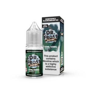 Honeydew Blackcurant Ice Nikótín Salt Eliquid Flaska með kassa eftir Dr Frost