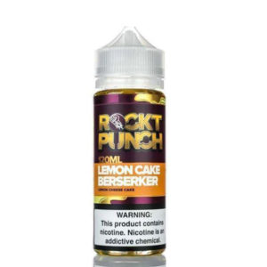 Lemon Cake Berserker 100ml Eliquid Shortfill-fles door Rockt Punch Okami