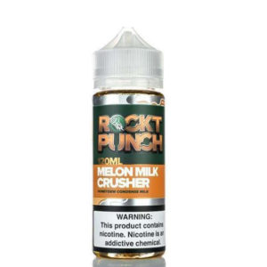 Melon Milk Crusher 100ml Eliquid Shortfill Bottle By Rockt Punch Okami