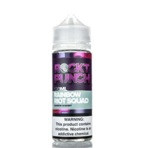 Rainbow Riot Squad 100ml Eliquid Shortfill Bottle By Rockt Punch Okami