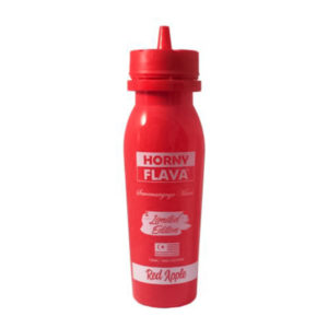 Red Apple 100ml Eliquid Shortfill Bottle By Horny Flava Limited Edition