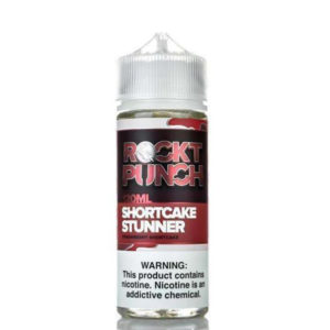 Shortcake Stunner 100ml Eliquid Shortfill Flaska eftir Rockt Punch Okami