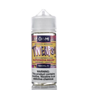 Twerps Supernova Squirt 100ml Eliquid Shortfill Flaska Eftir Okami