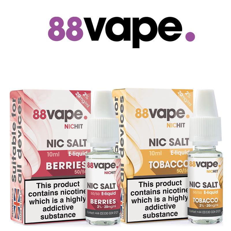 88Vape Nic Salt E-Liquids