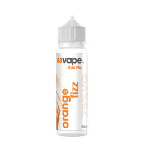 88 Vape Orange Fizz 50ml Eliquid Shortfill Bottle