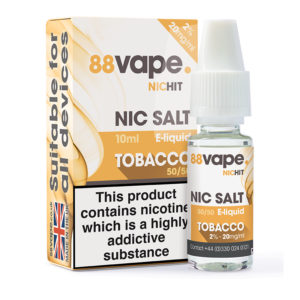 88 Vape Tobacco Nicotine Salt Eliquid Bottle With Box