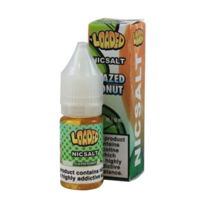 Loaded Glazed Donut 10ml Nicotine Salt Eliquid Bottle With Box