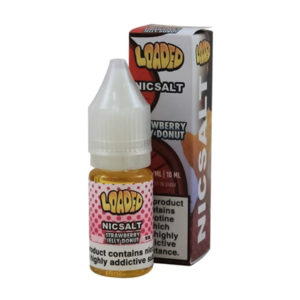 Loaded Strawberry Jelly Donut 10ml Nicotine Salt Eliquid Flaska med låda