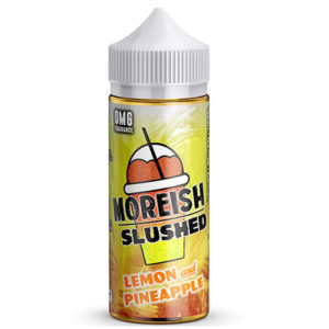 Moreish Slushed Lemon And ananas 100ml E Liquid Shortfill Bottles