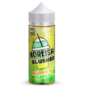 Moreish Slushed Mango And Apple 100ml E Liquid Shortfill Flöskur