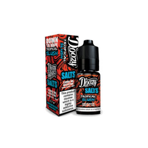 Tropical Slush 10ml Nikótín salt Eliquid By Doozy Vape sölt