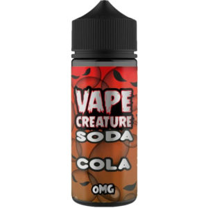 Vape Creature Cola Soda 100ml Eliquid Shortfill Flaska