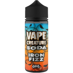 Vape Creature Iron Fizz Soda 100ml Eliquid Shortfill Flaska