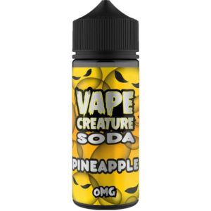 Vape Creature Pineapple Soda 100ml Eliquid Shortfill Flaska