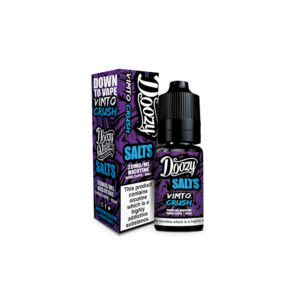 Vimto Crush 10ml Nicotine Salt Eliquid By Doozy Vape Salts