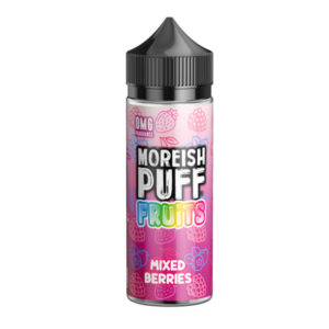 Blönduð ber 100ml Eliquid Shortfill flaska með Moreish Puff Ávextir