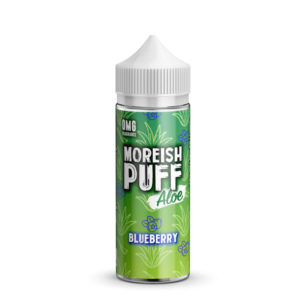 Blueberry Aloe 100ml Eliquid Shortfill Flasche von Moreish Puff Aloe