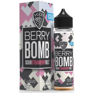 Iced Berry Bomb E-liquid Shortfill By Vgod