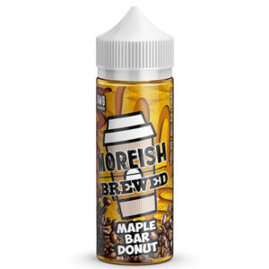 Maple Bar Donut 100ml E šķidrums Shortfills By Moreish Brūvēts