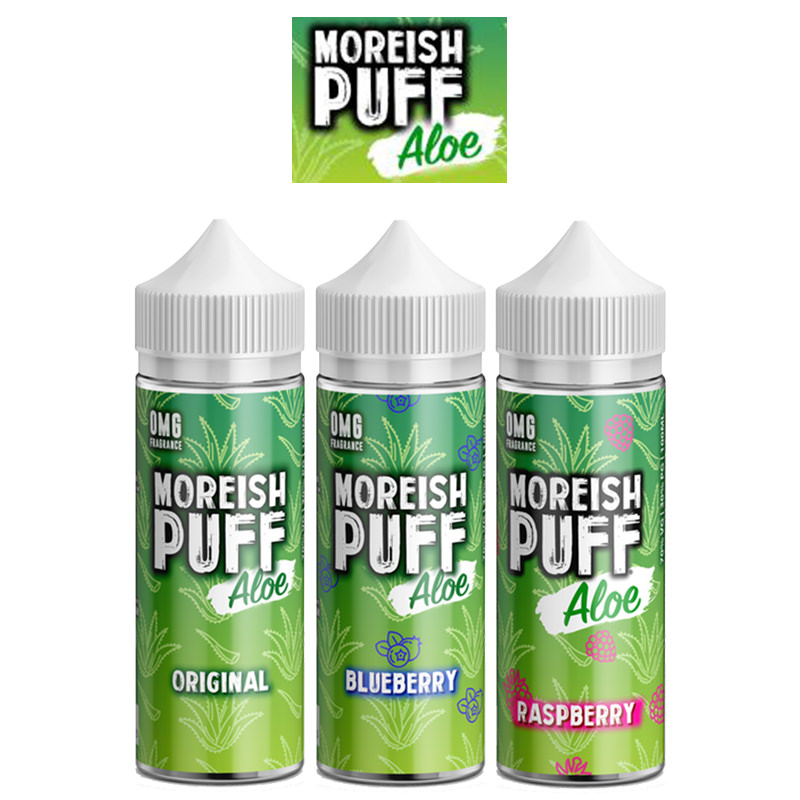 Moreish Puff Aloe E-Liquid Shortfills