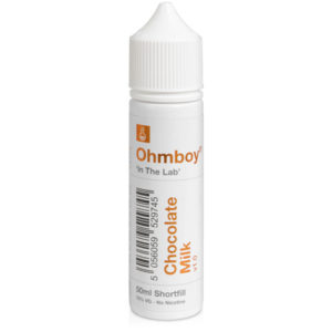 Ohmboy In The Lab Chocolate Milk 50ml Eliquid Shortfill
