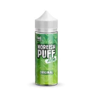 Upprunaleg Aloe 100ml Eliquid Shortfill flaska með Moreish Blása Aloe