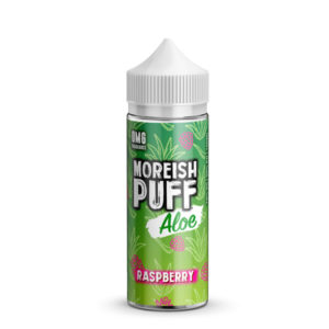 Raspberry Aloe 100ml Eliquid Shortfill Flaska hjá Moreish Blása Aloe