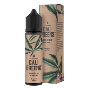 Cali Greens Amnesia Mango 50ml Eliquid Shortfill Flaske med kasse
