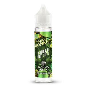 Circle Of Life 50ml Eliquid Shortfill Pudele ar Twelve Monkeys
