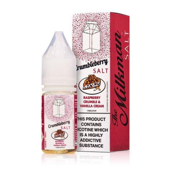 Crumbleberry Nicotine Salt Eliquid By The Milkman Salts