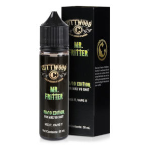 Cuttwood Mr Fritter 50 ml Eliquid Shortfill Μπουκάλι με κουτί