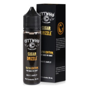 Cuttwood Sugar Drizzle 50ml Eliquid Shortfill Bottle With Box