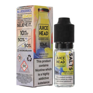 Juice Head Blueberry Citron Nicotine Salt Eliquid Bottle avec boîte
