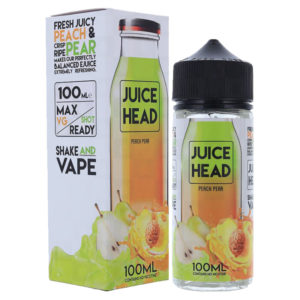 Juice Head Peach Pear 100ml Eliquid Shortfill Bottle With Box