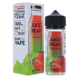 Juice Head Strawberry Kiwi 100ml Eliquid Shortfill Bottle With Box