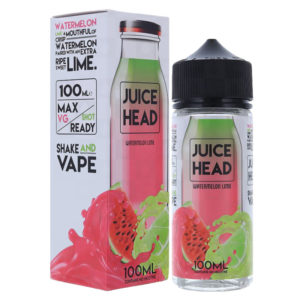 Juice Head Watermelon Lime 100ml Eliquid Shortfill Μπουκάλι με κουτί