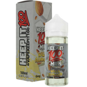 Keep It 100 Nilla Almond 10ml Eliquid Shortfill Bottle With Box