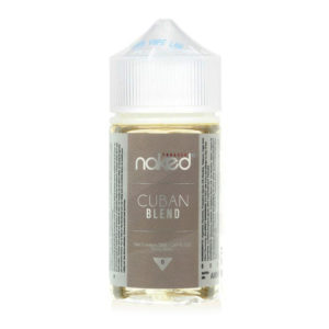 Naked Tobacco Cuban Blend 50ml Eliquid Shortfill Frasco