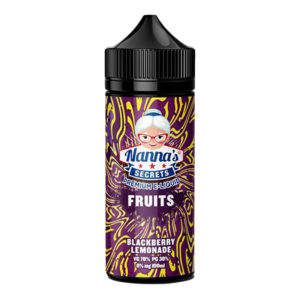 Nanas Secrets Blackberry Lemonade 100ml Eliquid Shortfill Bottle