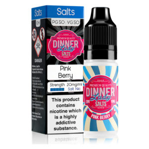 Pink Berry 10ml Eliquid de sal de nicotina de Dinner Lady