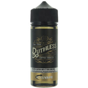 Ruthless Café Tabaco 100ml Eliquid Shortfill Botella