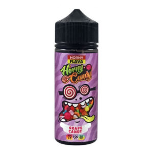 Horny Grape Candy 100ml E Liquid Shortfill Bottle