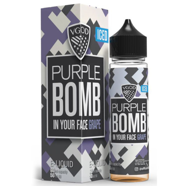 Iced Apple Bomb E-liquid Shortfill By Vgod