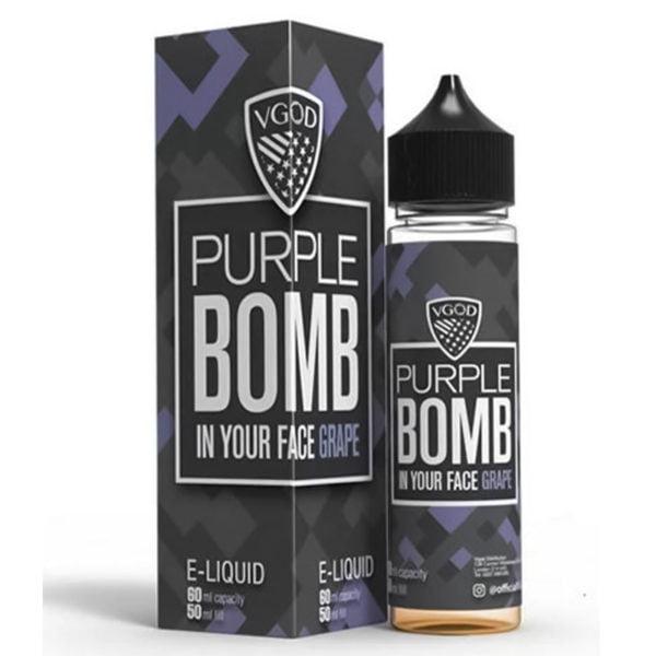 Purple Bomb E-liquid Shortfill By Vgod