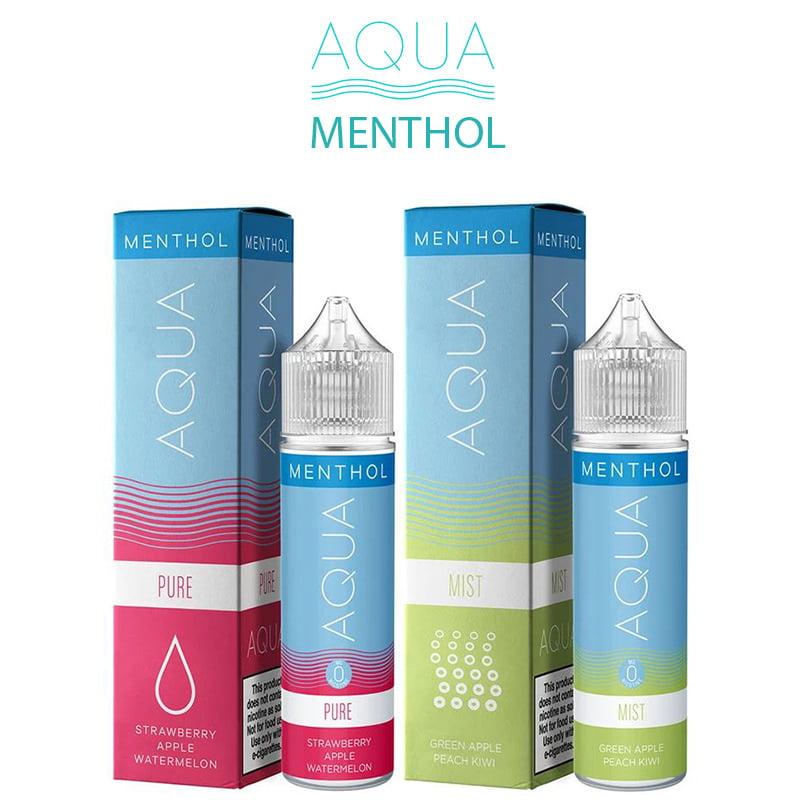 Aqua Menthol Shortfills