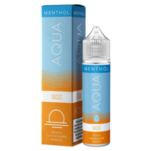 Aqua Menthol Oasis 50ml Eliquid Shortfill Μπουκάλι με κουτί