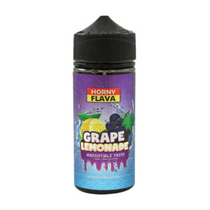 Grape Lemonade 100ml Eliquid Shortfills De Horny Flava