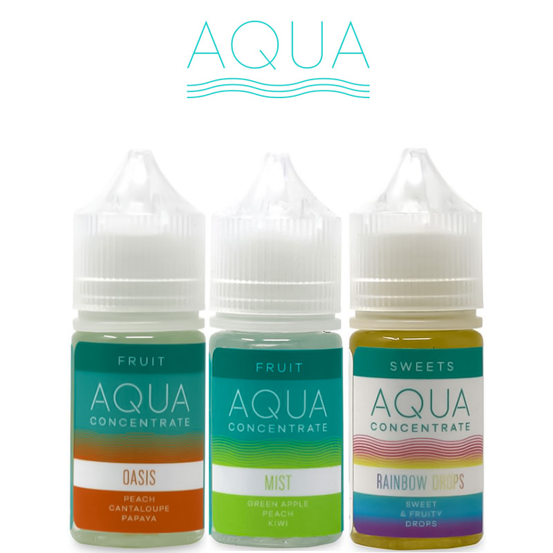 Aqua E-Liquid Flavor Concentrates