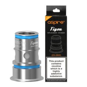 Aspire as bobinas Vape de substituição Tigon com caixa