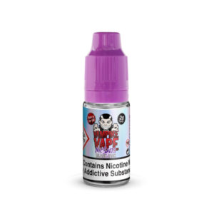 Black Jack Nicotine Salt Eliquid By Vampire Vape Nic Salts
